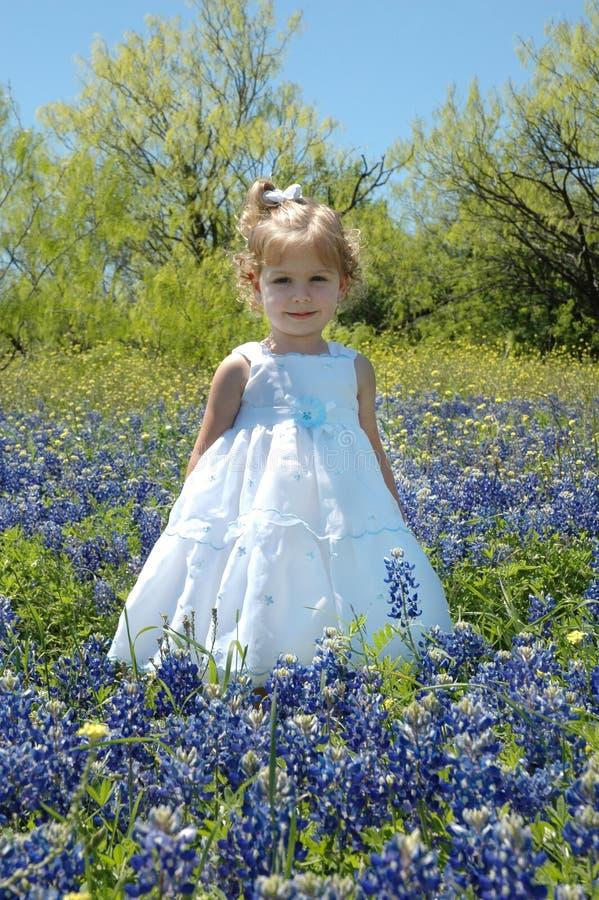 Blumen-Kind lizenzfreies stockbild
