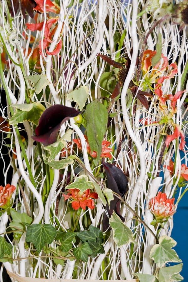 Blumen verzieren stockfoto