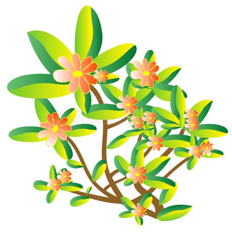 Blumenanlage lizenzfreie abbildung