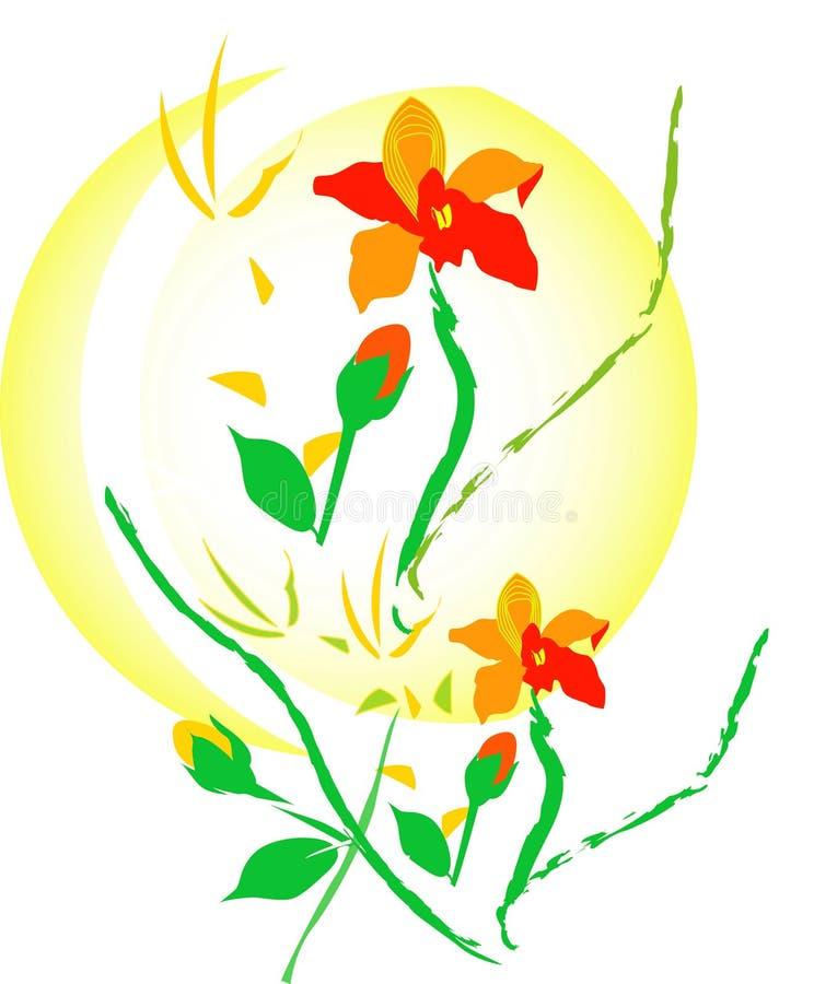 Blumenanordnung vektor abbildung