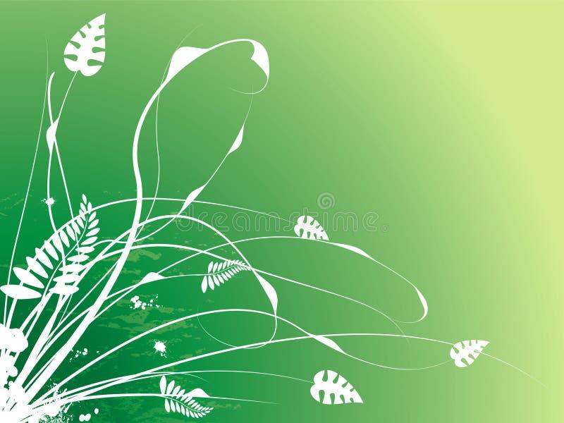 Blumenanschlag lizenzfreie abbildung