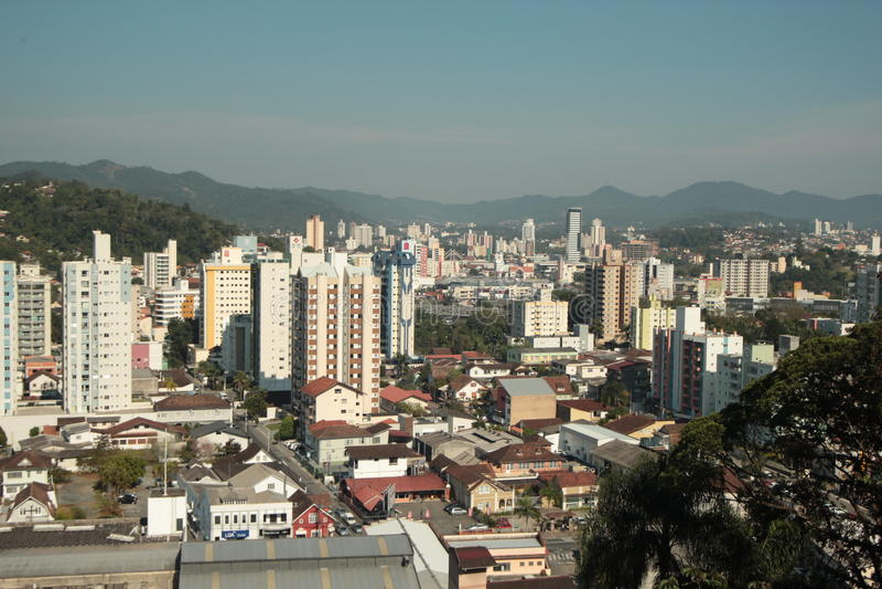 Blumenau - Santa Catarina - Brasil imagens de stock