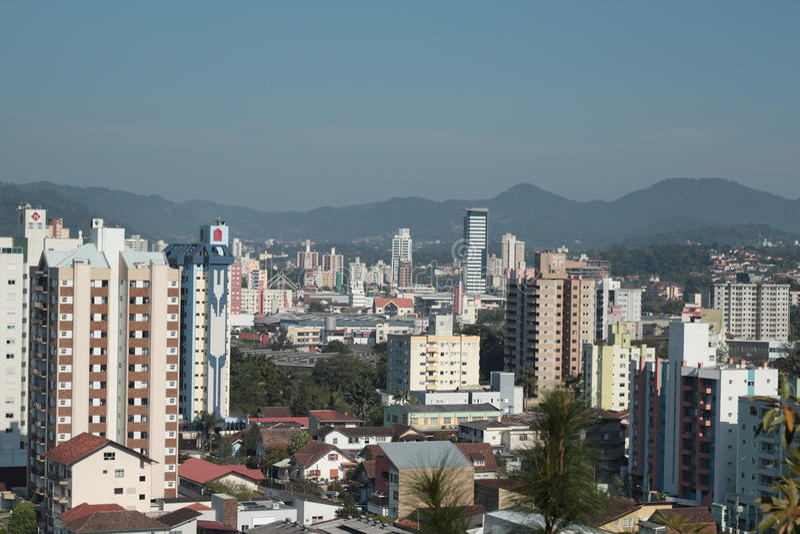 Blumenau - Santa Catarina - le Brésil images stock