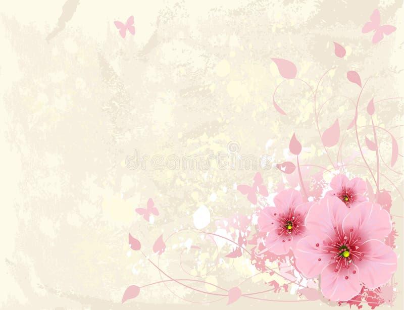 Blumenauslegung vektor abbildung