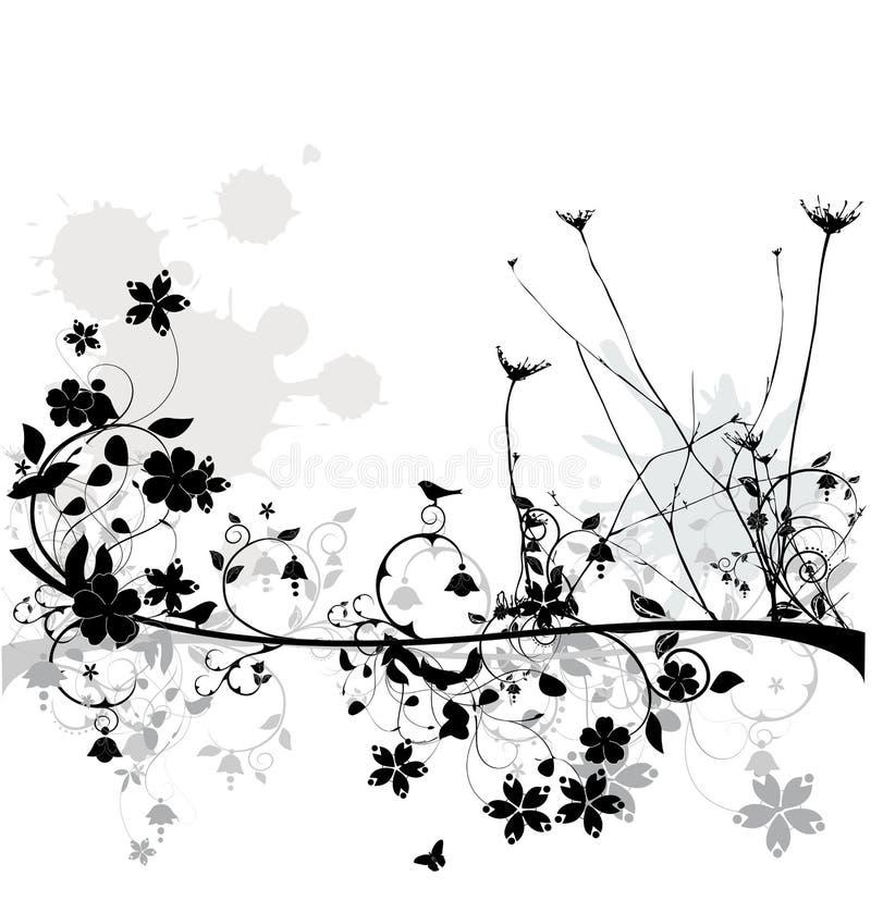 Blumenauslegung lizenzfreie abbildung