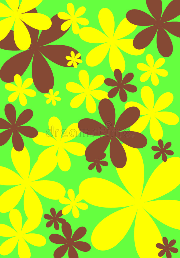 Blumenauslegung 5 stockbilder