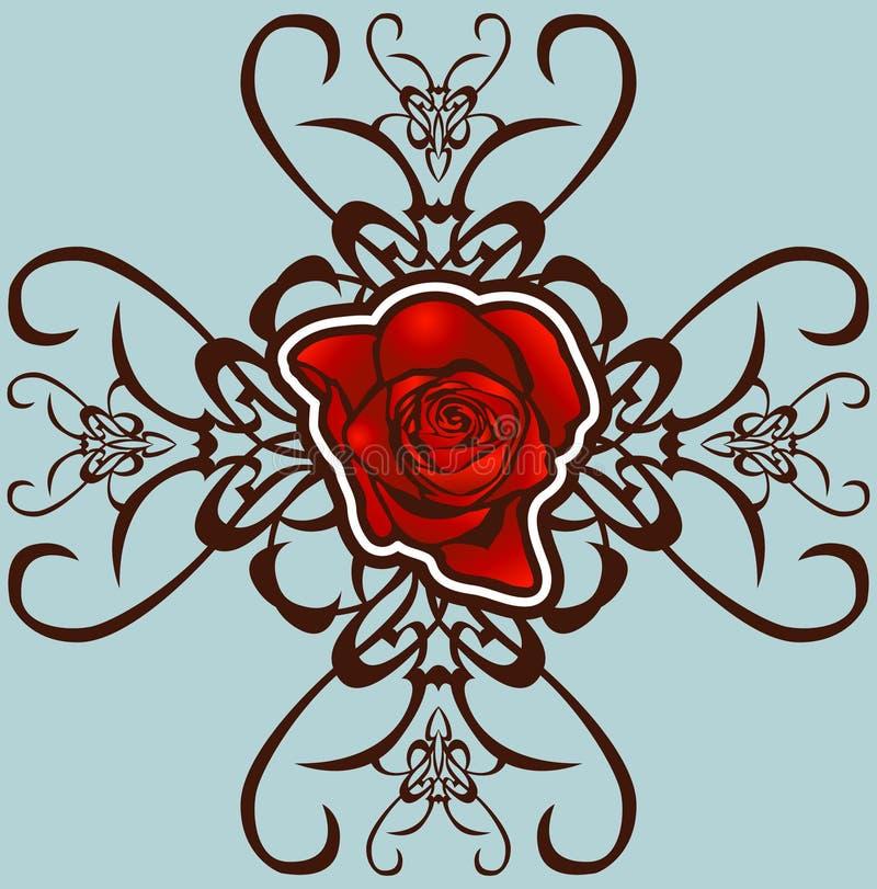 Download Blumenauslegungelement vektor abbildung. Illustration von schönheit - 870263