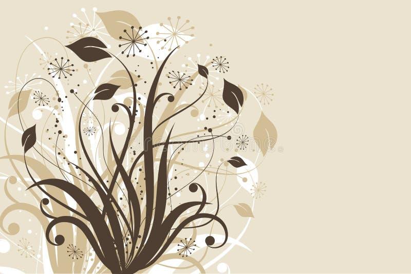 Blumenauszug stock abbildung