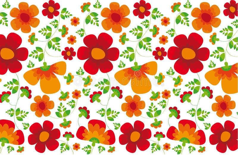 Blumenbeschaffenheit stock abbildung