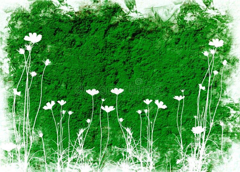 Blumenbeschaffenheiten vektor abbildung