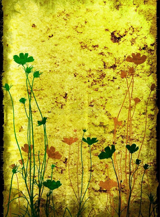 Blumenbeschaffenheiten lizenzfreie abbildung