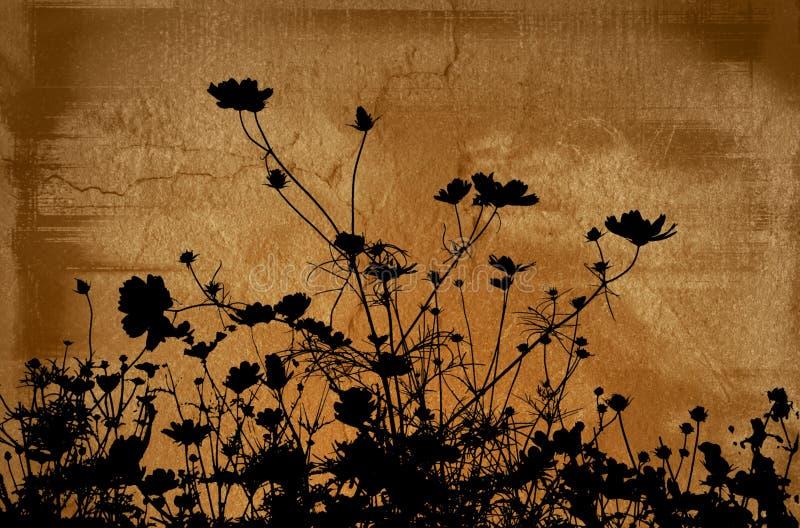 Blumenbeschaffenheiten stock abbildung