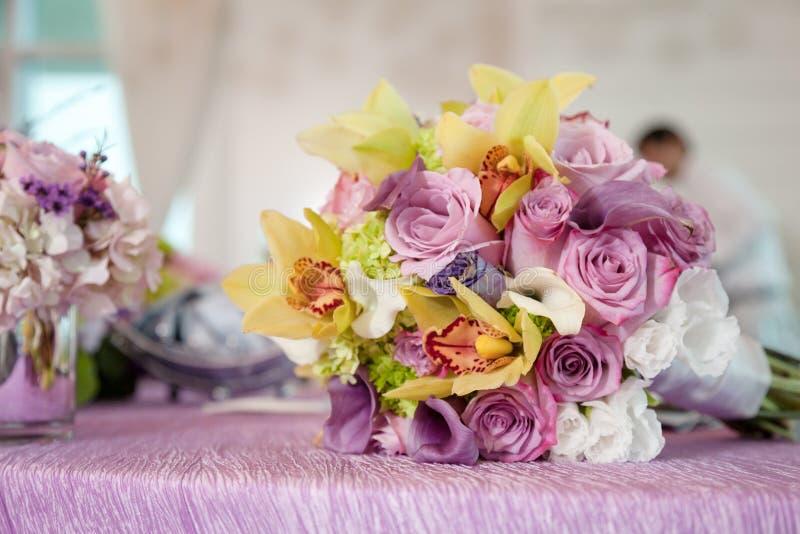 Blumenblumensträuße stockfotos