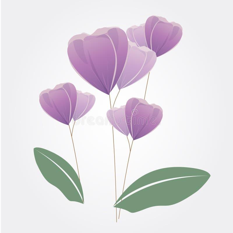 Blumendesignvektor stockbilder