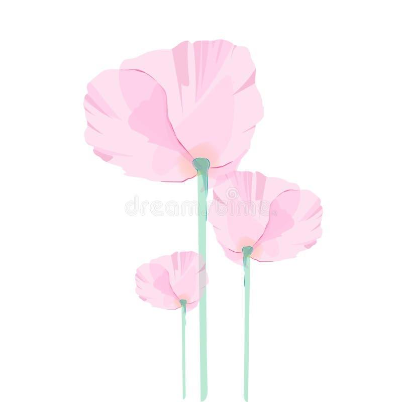 Blumendesignvektor lizenzfreies stockfoto