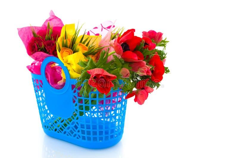 Blumeneinkauf stockfotografie