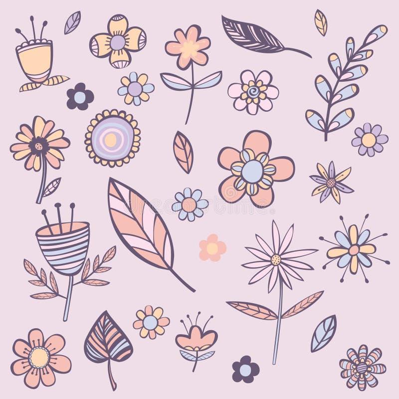 Blumenfarbhintergrund lizenzfreie stockfotos