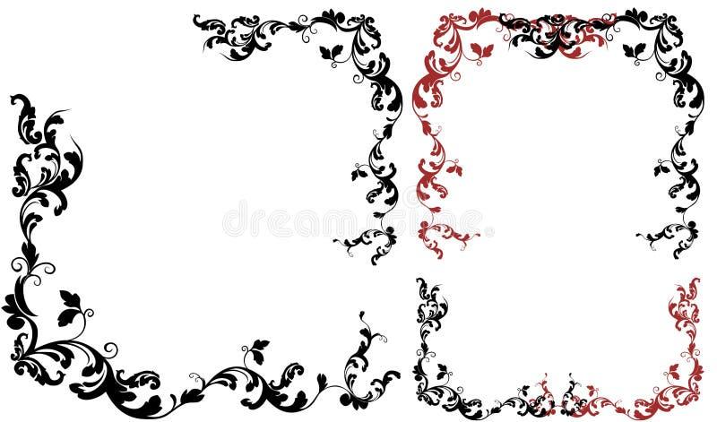 Download Blumenfelder vektor abbildung. Illustration von elegant - 9090566