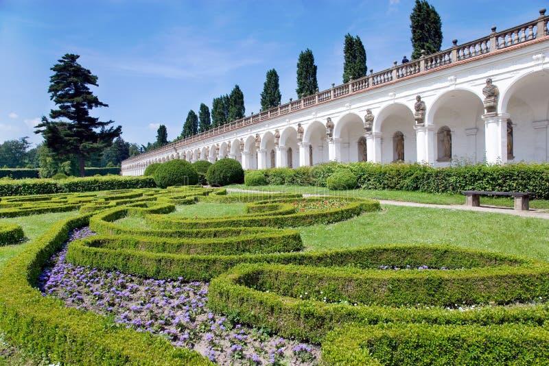 Blumengärten (UNESCO), Kromeriz, Tschechische Republik stockfoto