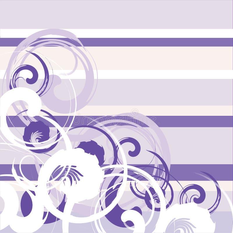 Blumengrunge Streifen vektor abbildung