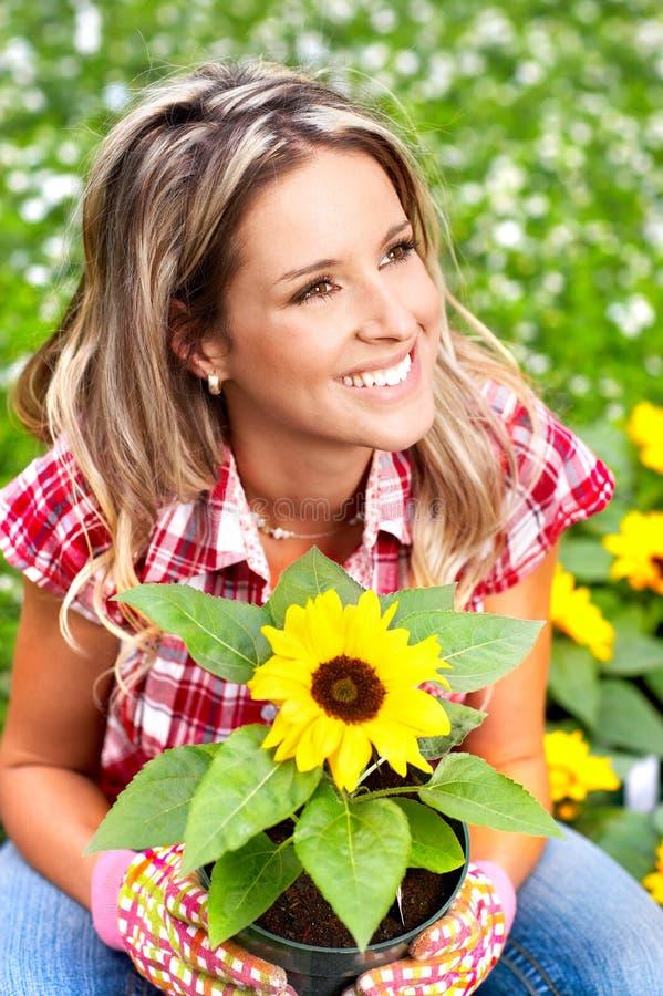Blumenhändler Stockfotos