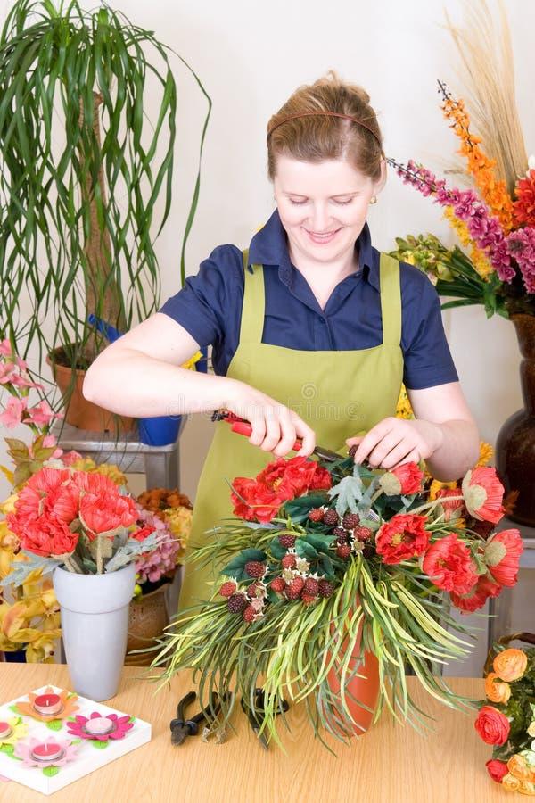 Blumenhändler-System stockfoto