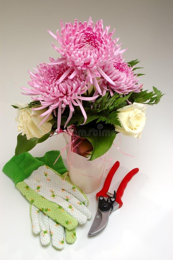 Blumenhändler-System-Hilfsmittel stockbilder