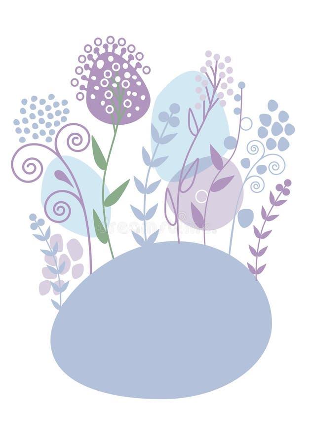 Blumenhintergründe lizenzfreie abbildung