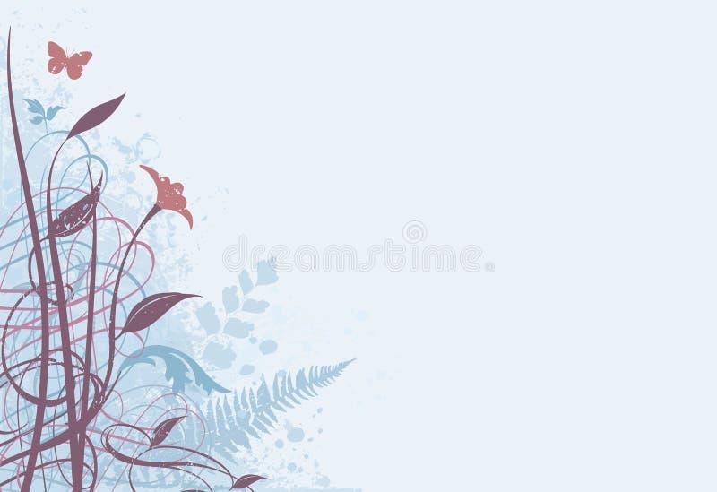 Blumenhintergrund 02 lizenzfreie abbildung