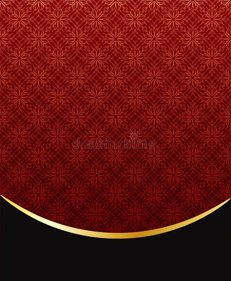 Download Blumenhintergrund vektor abbildung. Illustration von gold - 12202480