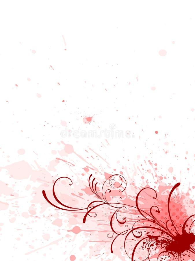 Blumenhintergrund, lizenzfreie abbildung