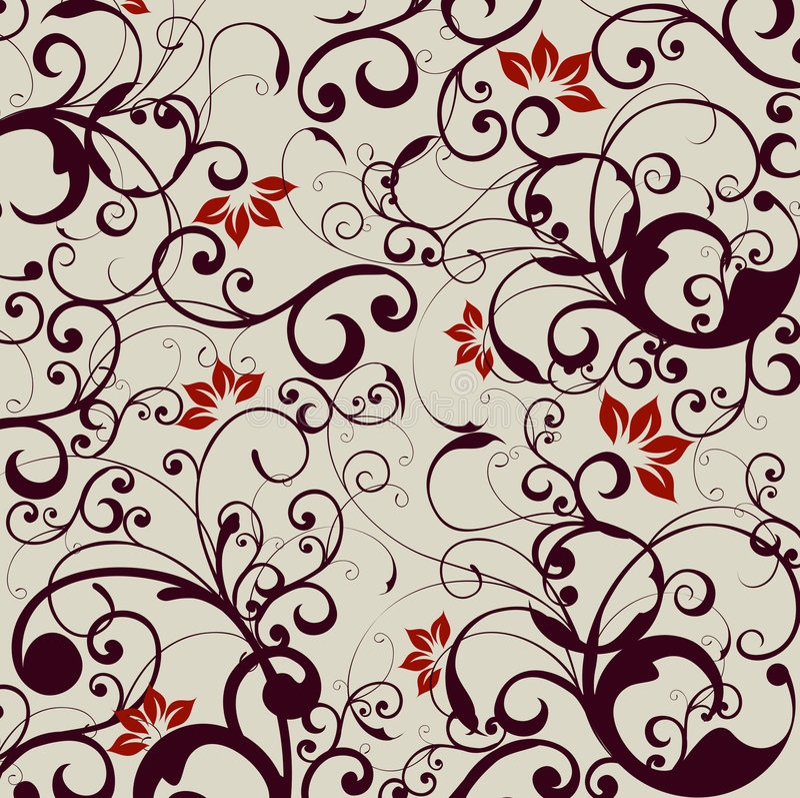 Blumenhintergrund vektor abbildung
