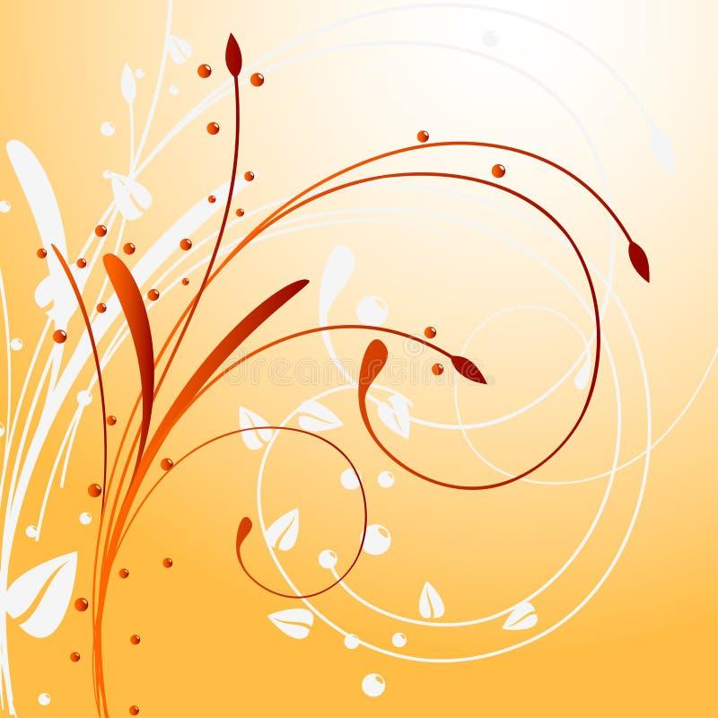 Download Blumenhintergrund vektor abbildung. Illustration von kunst - 9079043