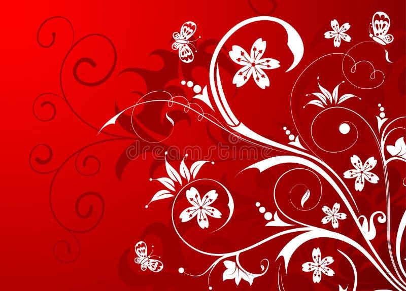 Download Blumenhintergrund vektor abbildung. Illustration von blume - 9091049