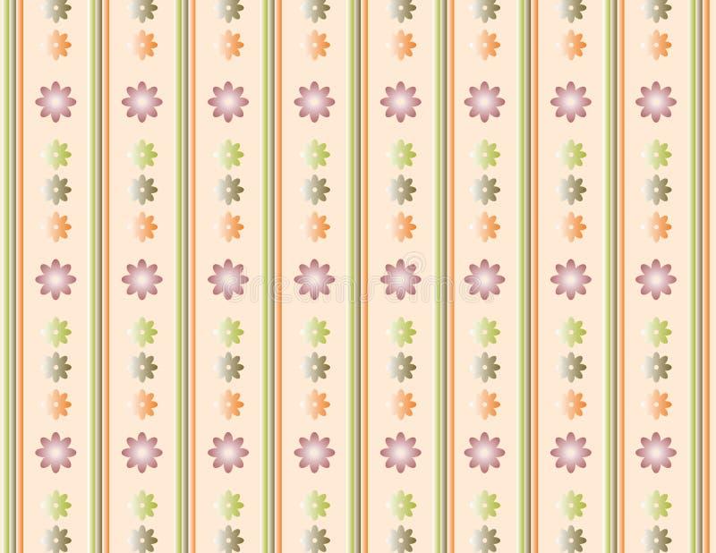 Blumenhintergrundvanille stock abbildung
