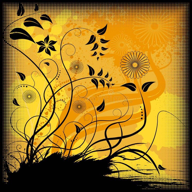 Blumenhintergrundvektor vektor abbildung