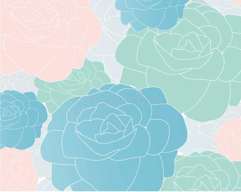 Blumenhintergrundvektor lizenzfreie stockbilder