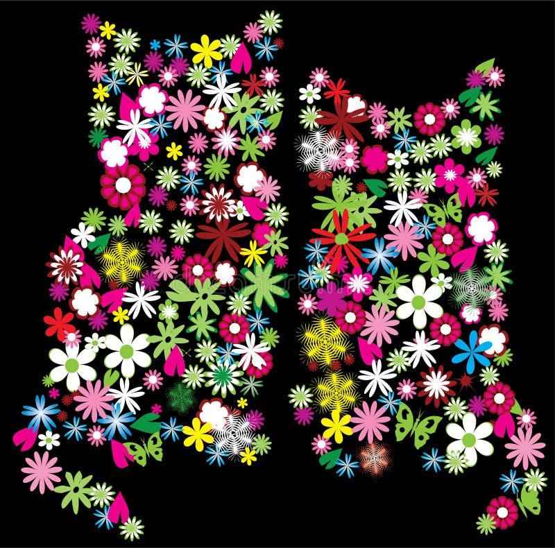 Blumenkätzchen vektor abbildung