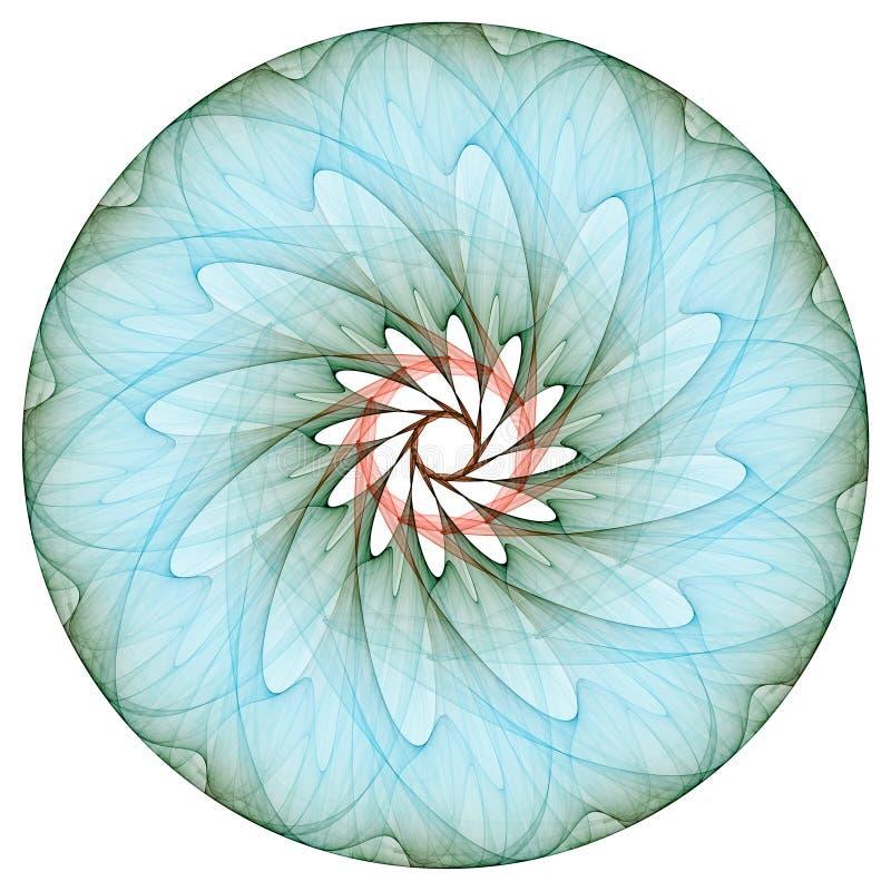 BlumenMandala lizenzfreie abbildung