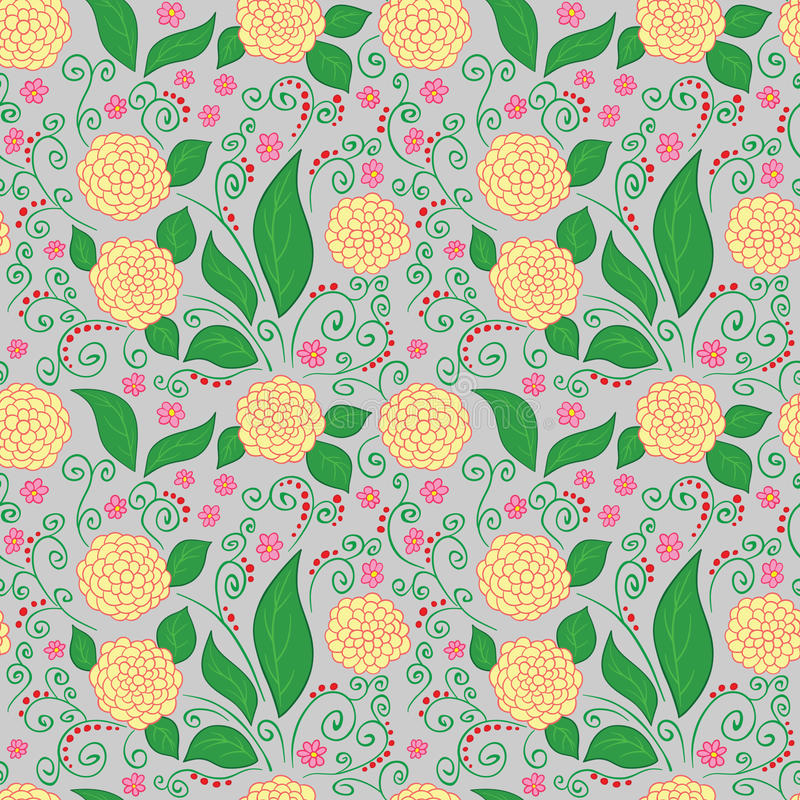 Download Blumenmuster vektor abbildung. Illustration von muster - 27727972