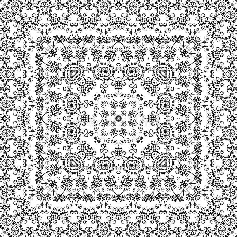 Blumenmuster des nahtlosen Entwurfs vektor abbildung