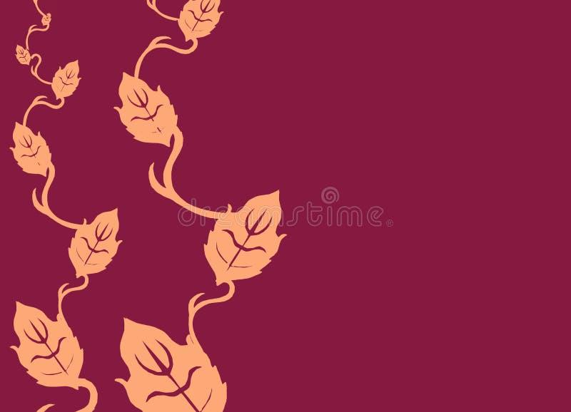BlumenPotenzreihe 04 stock abbildung