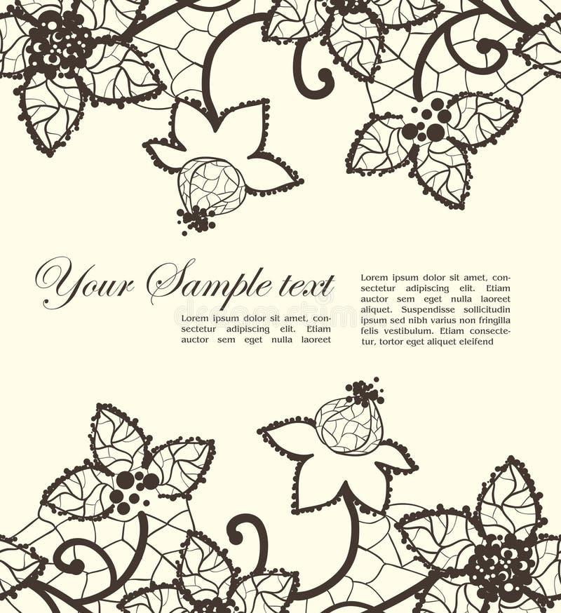 Blumenspitze lizenzfreie abbildung