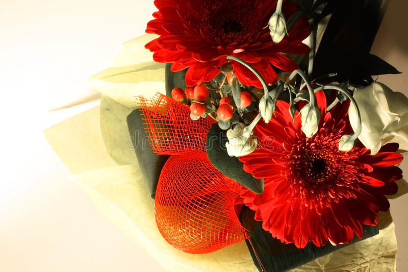 Blumenstrauß lizenzfreies stockbild