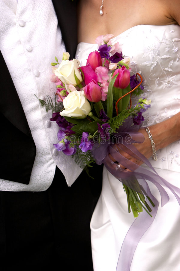Blumenstrauß der Blumen lizenzfreie stockfotos