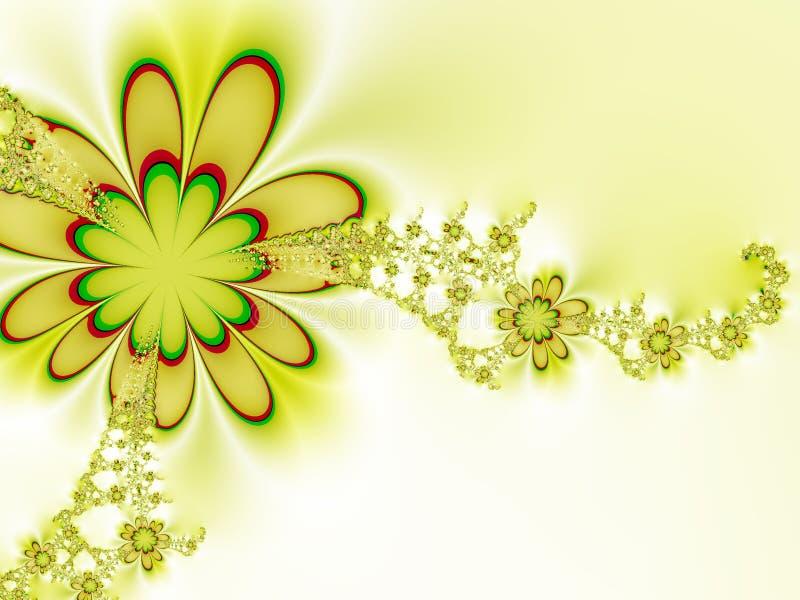 Blumenstrauß der Blumen vektor abbildung