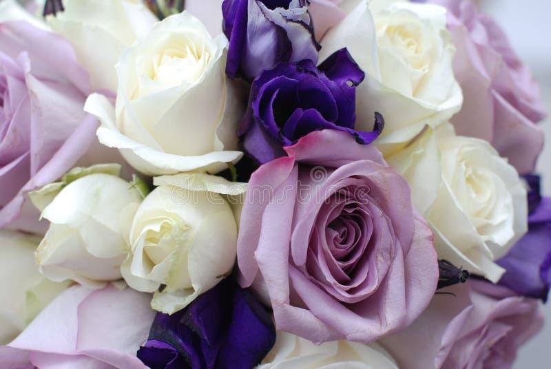 Blumenstrauß der Rosen lizenzfreie stockbilder