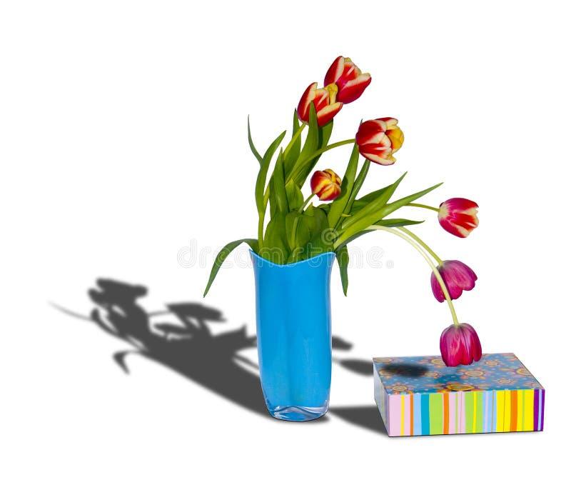 Blumenstrauß durch ein holiday1 stockfotos