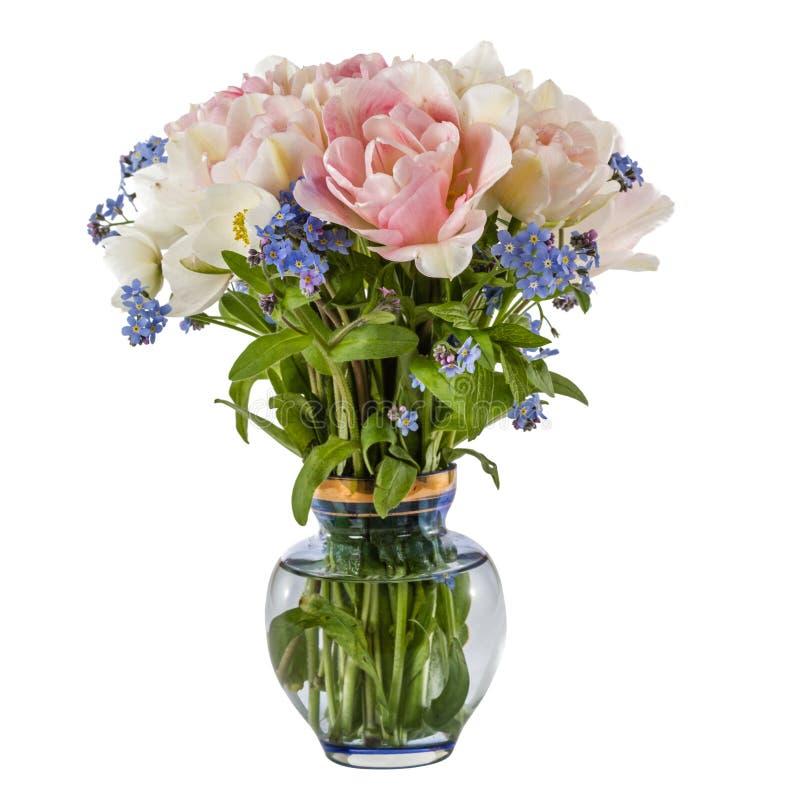 Vase Mit Blumen blumenstrauß blumen in einem vase in tulpen und in