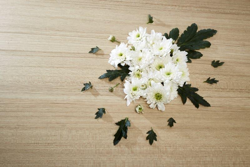 Blumenstrauß von Chrysanthemen stockbilder